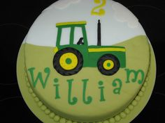 2D Tractor on Cake Central