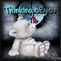 Thinking Of You Teddy Bear Glitter Hugs And Kisses Quotes, Hug Quotes, Kissing Quotes, Tatty Teddy, Thinking Of You Images, Thinking Of You Quotes, Thinking Of You Today, Special Friend Quotes, Teddy Bear Quotes