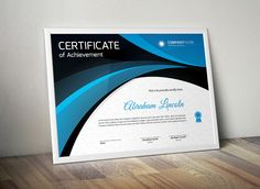 Certificate templates and Templates on Pinterest