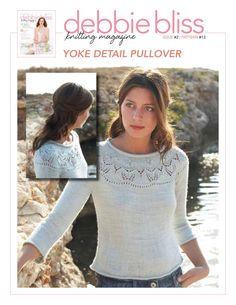 Debbie Bliss Magazine - DBM02-13 - Yoke Detail Pullover