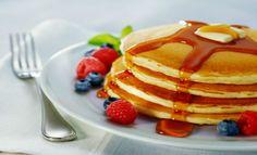 Prepara estos deliciosos Hotcakes con durazno