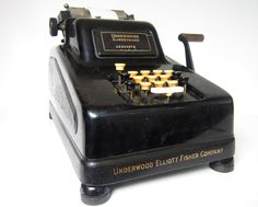 antique 1930s adding machine