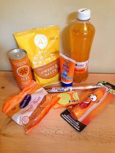 Orange you glad it's summer :: teacher end-of-year gift.