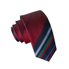 SunnyWorld Fashion Classical Gingham Plaid Silk Skinny Slim Tie Men's Neckties (2A12) -- Awesome products selected by Anna Churchill