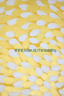 Obrazy - Petals {Yellow & White} - 6660282_ Abstract, Yellow, Handmade, Paintings, Home Decor, Summary, Hand Made, Decoration Home, Paint