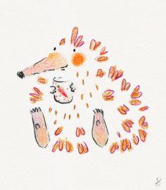 Healthy hedgie holding a cup of carrot juice Hedgehog Illustration, Binky, Kos, Make Me Smile, Carrots, Juice, Illustrations, My Favorite Things, Drawings
