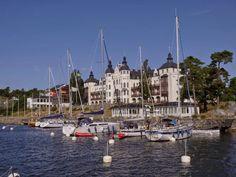 #Saltsjöbaden and Grand Hotell