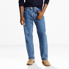 Levi's 550 Relaxed Fit Jeans (Big & Tall) - Men's 42x38