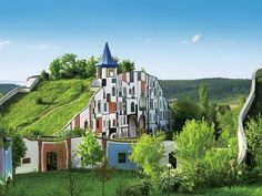 unique hotel Rogner Bad Blumau
