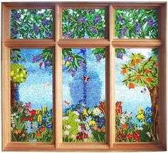 Mosaic window by lilly.winters.31