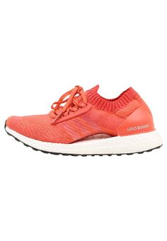 ULTRA BOOST X - Laufschuh Neutral - trace scarlett/crystal white/traora @ Zalando. Neutral, Adidas Performance, Crystals, Sneakers, Shoes, Fashion, Runing Shoes, Cold, Keep Running