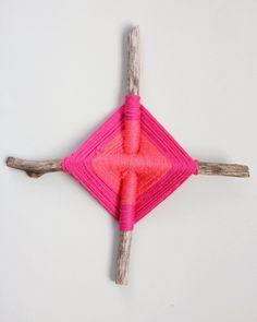 knutselen, kinderen, basisschool, herfst, weven met takjes, #craft, children, fall, weaving god's eyes, yarn