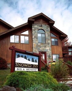 6/12 New England road trip. Snowed Inn Bed and Breakfast - Killington, VT