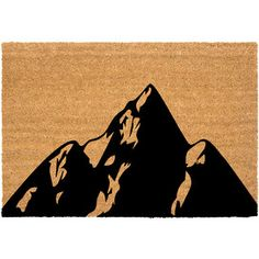 Mountains Doormat