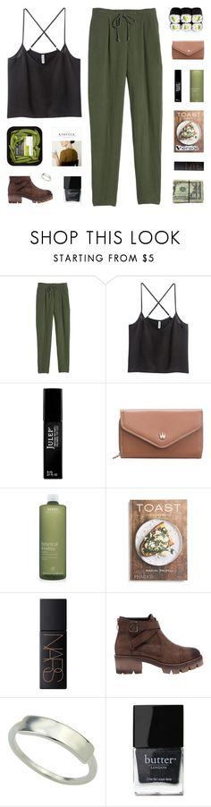 """i gotta be on my own"" by kristen-gregory-sexy-sports-babe ❤ liked on Polyvore featuring Rebecca Taylor, Julep, Aveda, PHAIDON, NARS Cosmetics, Butter London and melsunicorns"