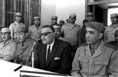 ناصر والشهيد عبد المنعم رياض والفريق محمد فوزي