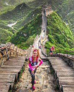 Who would you run this race with?Great Wall Marathon China The best view comes after the hardest climb. When your legs get tired..run with your heart as long as you dont stop. #RunningTerritory (: @just_run_tasya) Follow @RunningTerritory for more.