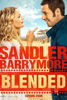 Blended on DVD August 2014 starring Adam Sandler, Drew Barrymore, Joel McHale, Bella Thorne. After a disastrous blind date, single parents Lauren (Drew Barrymore) and Jim (Adam Sandler) agree on only one thing: they never want to see Funny Movies, Comedy Movies, Great Movies, Hd Movies, Movies Online, Movies And Tv Shows, Watch Movies, Movies Free, It's Funny