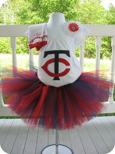 Minnesota Twins Tutu Set  $55.00  -- Jessi Tschudi, you need this!