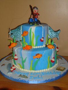 design +cake fish - Google Search