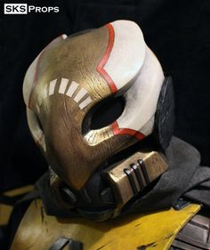 Destiny Hunter exotic Cosplay Mask Celestial Nighthawk re-shared by http://comiconsociety.com