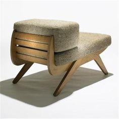 Charlotte Perriand, Tokyo Lounge Chair varētu uztaisīt no ragaviņām) My Furniture, Design Furniture, Chair Design, Vintage Furniture, Charlotte Perriand, Muebles Art Deco, Love Chair, Interiores Design, Decoration