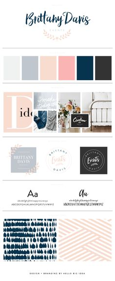 Brittany Davis Design - Branding by @hellobigidea