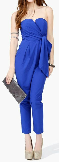 Blue Jumpsuit <3 L.O.V.E.
