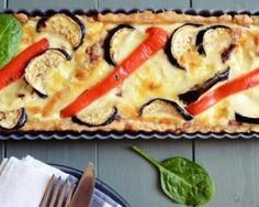 Quiche Croq'Kilos aubergines, oignon et curry - Diet Recipes, Cooking Recipes, Healthy Recipes, Healthy Food, Curry, Ramadan Recipes, Entrees, Sushi, Food And Drink