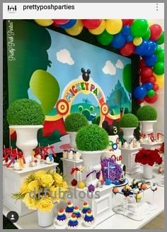 Mickey Mouse Clubhouse Birthday Table D Mickey Mouse Clubhouse Birthday Party Mickey Mouse Clubhouse Birthday Party Decorations Mickey Mouse Clubhouse Birthday
