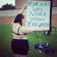Your scale will never define your worth