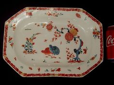 18th C CHARMING 32cm BOW KAKIEMON TWO QUAIL PATTERN PORCELAIN DISH PLATTER PLATE  | eBay VERY GOOD OVERALL CONDITION.  ONE SHORT, TIGHT, HAIRLINE CRACK RUNNING FROM THE EDGE £221