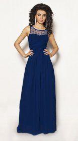 Granatowa sukienka maxi Model:IP-2382