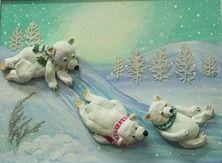 Ours dans la neige