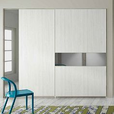 Amazing white 'Phio' Wardrobe by Orme