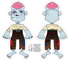 Zombie Plush fabric by jadegordon on Spoonflower - custom fabric