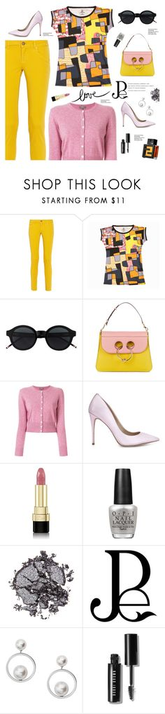 """""""Outfit of the Day"""" by sproetje ❤ liked on Polyvore featuring M Missoni, J.W. Anderson, N.Peal, ALDO, Dolce&Gabbana, OPI, Amica, Stila, Skagen and Bobbi Brown Cosmetics"""