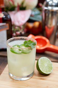 b1cf5cbc36c Remix The Original Margarita recipe with jalapeño and cilantro. 1oz