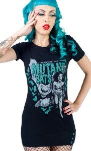 MUTANT BATS TUNIC TOP at Sourpuss Clothing