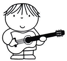 enfant à la guitare