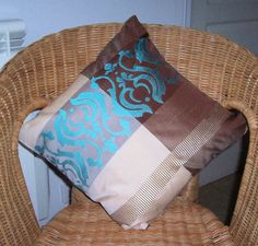 Elegant Decorative Throw Pillow  Pillow Throw  by PollysPillows