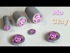 ▶ Millefiori: La rosa di Mo ©- Polymer clay tutorial - Paste sintetiche- Arcillas polimericas - YouTube