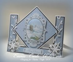 Emmas Cards UK: Christmas Cards  love this layout design