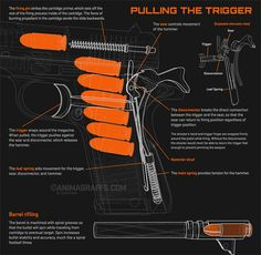 Cool animated infographics show how things work- pulling the trigger