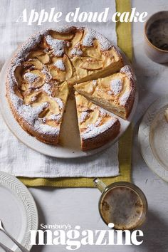 If you struggle to resist sweet treats, then make your own healthier bakes. look for a cake made with whisked egg whites, like our apple cloud cake - lovely and light but with no added fat, such as butter Apple Recipes, Sweet Recipes, Baking Recipes, Cake Recipes, Dessert Recipes, Hot Desserts, Cloud Cake, Vegetarian Cake, Cake Servings