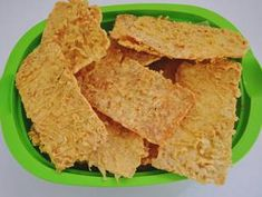 Breakfast Recipes, Snack Recipes, Snacks, Tempe Goreng, Fry S, Indonesian Food, Indonesian Recipes, Asian Kitchen, Looks Yummy