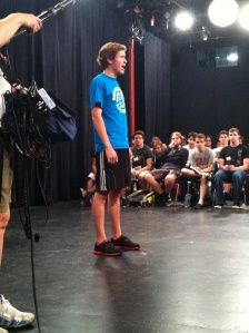 All In A Day's Work - Day 4; Blog from the 2012 Winners of Best Actress and Actor for the DSM High School Musical Theatre Awards while in New York City competing in the 2012 National High School Musical Theater Awards!