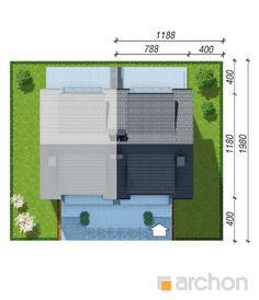 Projekt domu Dom w klematisach 20 (B) - ARCHON+ Floor Plans, Floor Plan Drawing, House Floor Plans