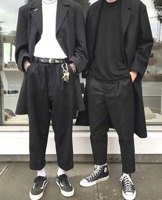 Edgy Outfits, Cool Outfits, Fashion Outfits, Mens Fashion, Mode Man, Grunge Style, Alternative Outfits, Jacket Style, Look Cool