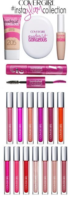 Covergirl InstaGlam Collection. I need to try some of these.